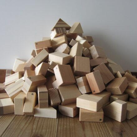 レンタル 知育玩具 つみき 木製