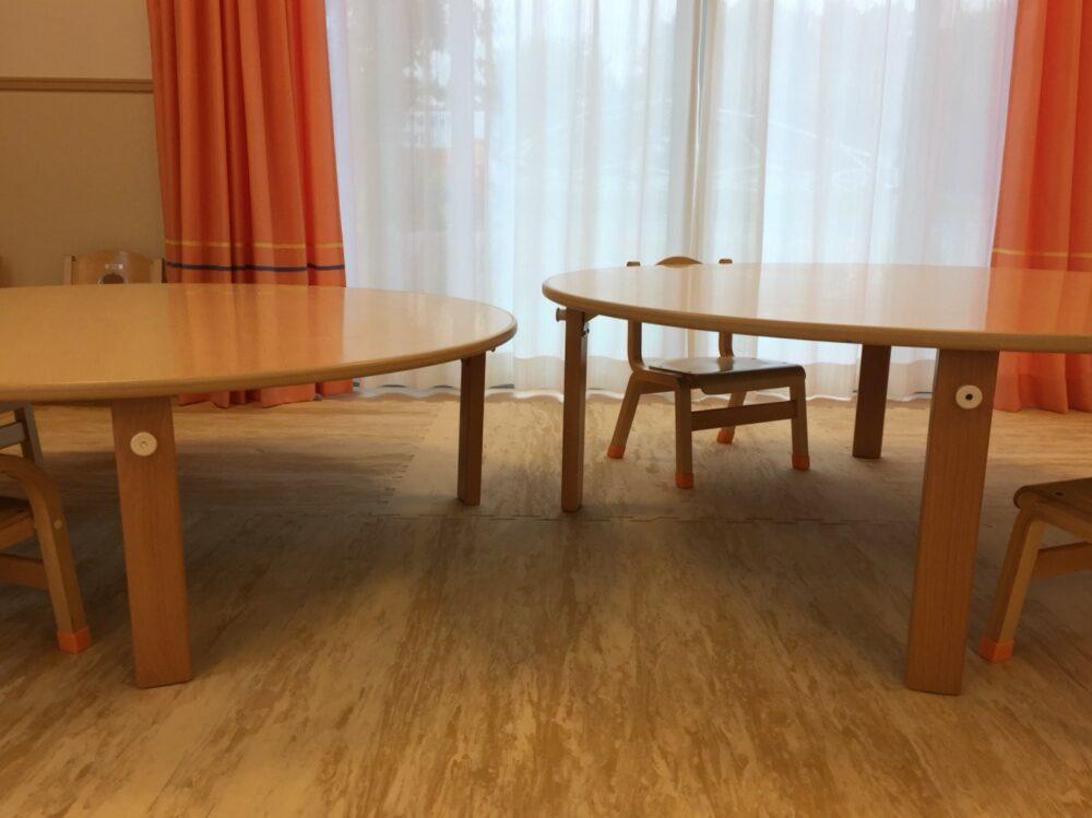 レンタル フレーベル 丸テーブル 保育